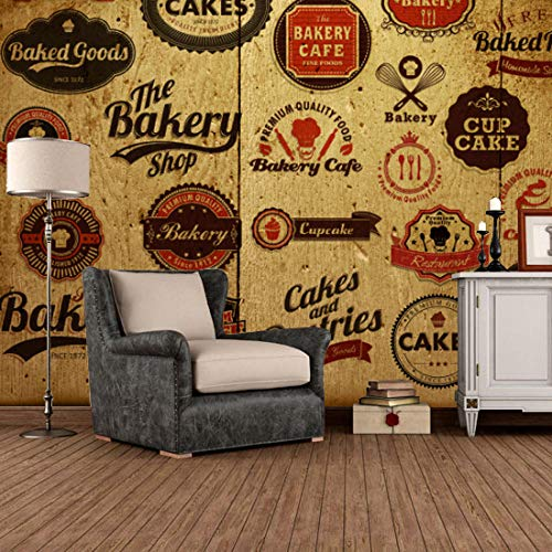 Benutzerdefinierte 3D Wandbild Europäischen Stil Holz Tapete Freizeit Bar Ktv Lounge Weinkeller Hintergrund Nostalgie Marke Tapete Wandbild Kleber senden 250x175cm
