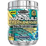 Best Amino Acids Supplements - Muscletech Amino Build Blue Raspberry Next Gen Energized Review