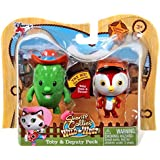 Disney Junior Sheriff Callie's Wild West Toby & Deputy Peck 2.5 Action Figure by Just Play