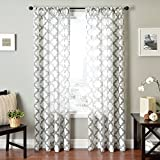 Best Home Fashion Curtain Rods - Softline Home Fashions Window Sheer/Panel/Drape/Curtain with Rod Pocket Review
