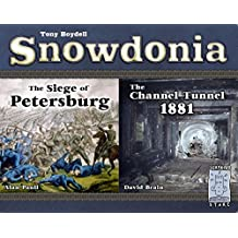 Snowdonia: The Siege of Petersburg and The Channel Tunnel 1881