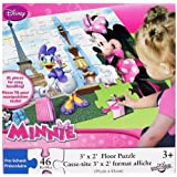 Disney Minnie Mouse Large Floor Puzzle (46-Piece) by Lil' Diner