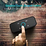 DOSS SoundBox- Touch Kabellose Portabler Bluetooth Lautsprecher mit unglaublicher 12-Stunden Spielzeit & Sensitive-Touch Wireless 12W Speakers mit TF Karte Funktion und Reinem Bass - 3