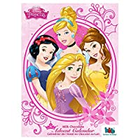 Disney Princess Milk Chocolate Advent Calendar 2015 (Toys Inc)