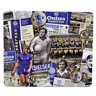 Official Chelsea FC Retro Mouse Mat / Retro-Stil Mauspad in limitierter Auflage sehr selten.