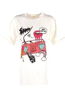 VICOLO T-Shirt Donna Bianco Uu0147 Primavera Estate 2019