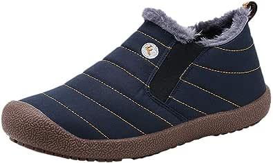 Uomo Stivali Invernali Donna Stivali da Neve Outdoor Caldo Scarpe Allineato Pelliccia Piatto Caviglia Stivaletti Sportive Boots