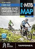 E-Bike-Karte Meran und Umgebung: Cartina E-bike Merano e Dintorni (E-Bike-Karten / Cartine E-Bike)