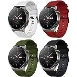 Forerunner 745 armband Galaxy Watch 3 45 mm / Galaxy Watch 46 mm / Gear S3 Frontier / Classic strap Silikon 22 mm armband för