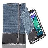 Cadorabo Coque pour Motorola Moto X Style en Bleu FONCÉ Noir - Housse Protection...