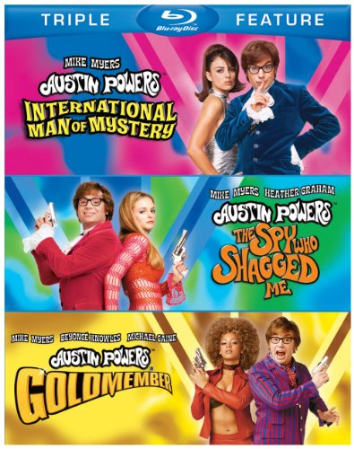 Austin Powers: International Man of Mystery/ The Spy Who Shagged me / Goldmember [Blu-ray] [Import]