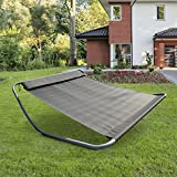 Bain de soleil 2 places rocking jardin for Chaise longue bascule 2 places