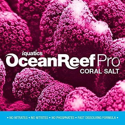 iQuatics Ocean Reef Pro Marine Saltwater Coral Premium Aquarium Salt - 10KG - Refill 1