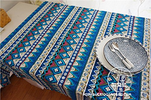 dadao-cotton-and-linen-table-linen-table-cloth-tablecloth-tableclothblue130180cm