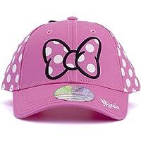 Essencial Caps Minnie Cappellino da Baseball, Rosa, 54 cm Unisex-Bambini