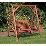 Apex Luxury Wooden Garden Swing Seat