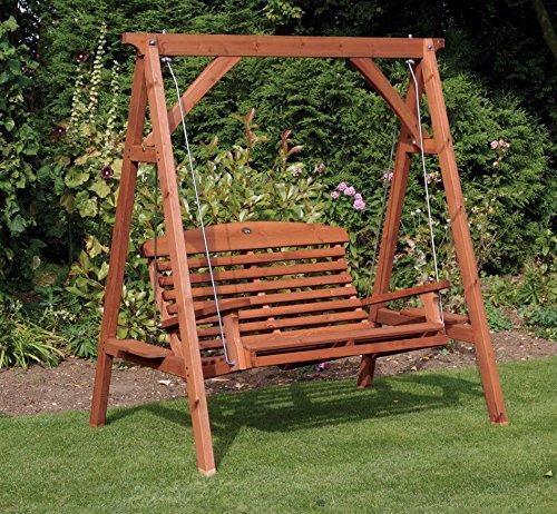 Wooden Garden Seats Amazon Co Uk