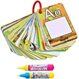 Mumoo Bear Water Magic,Magic Painting Books with 2 Water Colouring Board Pens, Water Drawing Doodle Toy Gifts (26 Letters)