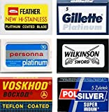Lamette da barba Feather, Gillette Platinum, Personna Platinum, Voskhod, Wilkinson Sword, Polsilver