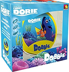 Asmodee ASM0003–Dobble Dorie, Juego de cartas, multicolor