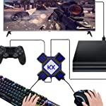 USB Game Controller Converter Keyboard Mouse Adapter for Switch/Xbox/PS4/PS3