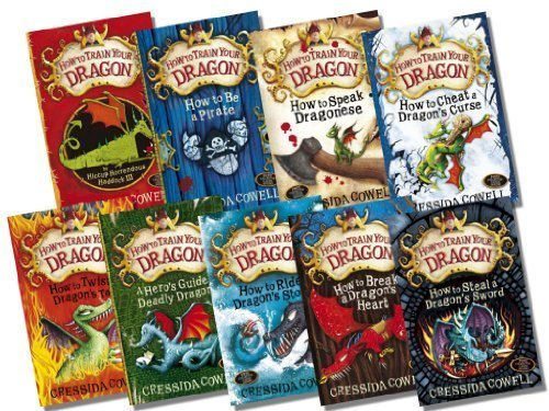 How to Train Your Dragon Collection, 9 Books, RRP 53.91 (How to Cheat a Drag...