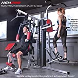 Sportstech Einzigartige 45in1 Premium Kraftstation HGX100/HGX200 für unzählige Trainingsvarianten Multifunktions-Homegym mit Stepper, Fitnessstation aus Eva Material für Zuhause- Robuste Konstruktion - 2