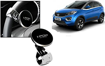 Autopearl Car Power Steering Wheel Knob Spinner for Tata Nexon