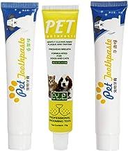 Peony Rifornimenti di Animali Domestici Dentifricio commestibile Cane Pulizia Orale Denti 75G Dentifricio Singolo Denti Whit