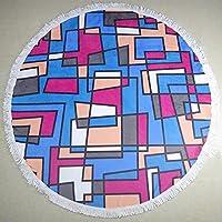 Materiale: 80% fibra di poliestere + 20% fibra poliammidicaPeso: 0.44kgIngredienti: poliestere (poliestere)Ingredienti: 75Sub-composizione: cotonecontenuti sottocomponente: 25Classificazione di colore: coloreSpecifiche: tondo, 150x150cm