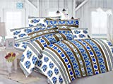 Mee Pra Paisley Double Bedsheet With 2 P...