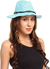 FabSeasons Blue Beach Hat for Women