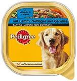 Pedigree Classic Schale Leckerbissen mit Lamm, Geflügel und Gemüse 10x300g - Hundefutter