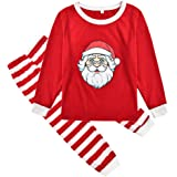 LONMEI Family Match Christmas Pajamas Set Xmas Mum Dad Kid Sleepwear Nightwear Homewear Family Matching Pjs Set