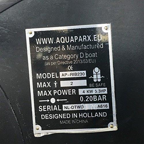 Aquaparx Schlauchboot RIB 330 Weiss im Test - 11