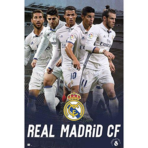 Grupo Erik Editores Real Madrid 2016/2017 Grupo Accion – Poster,