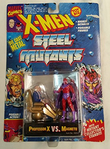 X-men Steel Mutants Professor X Vs. Magneto by Toy Biz