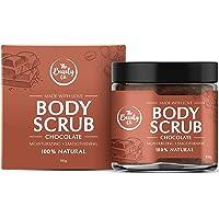 The Beauty Co. Chocolate Coffee Body Scrub, 100 gm   Natural Scrub   Coffee Scrub With Sugar, Cocoa, Walnut Shell Powder…