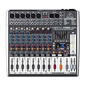 table de mixage behringer xenyx x1222usb