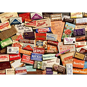 Memories of 1940's - Confectionery - 250 Piece Jigsaw Puzzle Tin