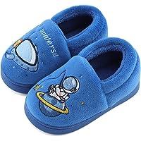 LACOFIA Pantofole Invernali per Bambini e Ragazzi Scarpe da Casa Spaziali Antiscivolo per Bimbo Ciabatte in Calde…