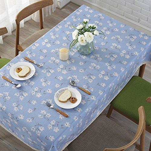 Tischdecke Aus Baumwolle, Ein Tisch Runder Tisch Esstisch Pad Cover Tuch, Verbringen, 120 * 160 Cm Aktivität Runde Tisch