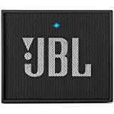 JBL Go Ultra Portable Rechargeable Bluetooth Speaker with Aux-In Compatible, Black