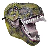 Bristol Novelty BM506Dinosaurier Pvc Maske für Erwachsene, One size