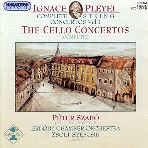 Pleyel: String Concertos (Complete), Vol. 1 - Cello Concertos