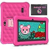 Tablet per Bambini 2 a 12 anni 7 Pollici Android 10.0, Tablet Bambini 2GB di RAM 32GB WiFi Kid-Proof Custodia, App per il Con