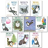 Judith Kerr Mog the Forgetful Cat Collection 10 Books Set (Mog the Forgetful Cat, Mogs Christmas, Mog and the VET, Mog and Bunny, Mog and the Granny, Mog in the Dark, Mog Amazing Birthday Carper , Mog and the Baby, Mog on the Fox Night, Mog Bad Things)