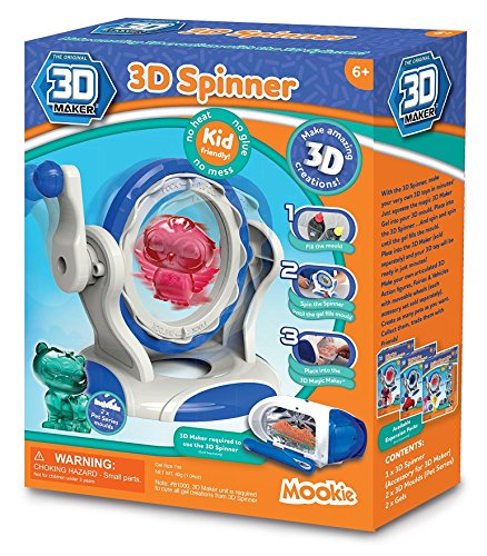 3d eléctrica 3d Spinner