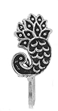 Anuradha Art Oxide Finish Peacock Inspired Wonderful Classy Studs Nose Ring Pin for Women/Girls