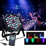 54W Lichteffekt Automatisierte Bühnenbeleuchtung Sprachaktivierte Stage Discolicht LED Par Licht